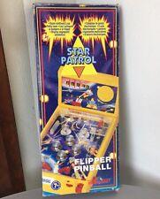 VINTAGE 80s# PINBALL   STAR PATROL FLIPPER MONNERET  STAR WARS BOOTLEG#NIB