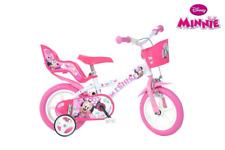 Vélo 12 Disney Minnie pour Enfants 3 ans hauteur 80/100 cm Dino Bikes