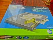"""Swingline Paper Trimmers/Cutters, Guillotine, 12"""" Cut Length, 10 Sheet Capacity,"""