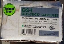 New listing Spectroline Glo Stick Universal Dye Capsules up to 4.9 lb