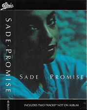 Sade Promise CASSETTE ALBUM Soul-Jazz, Vocal, Acid Jazz  2 bonus tracks