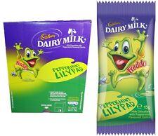Bulk Lot 72 x Cadbury Dairy Milk Peppermint Lilypad Freddo Frog 15g Bars New