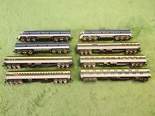 Vintage Lighted Rivarossi Chessie & Ohio Passenger Train Railroad Track Car Set