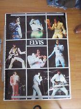 "Vintage Original Elvis In Concert Poster 1978 42x58"""