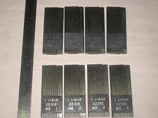 J&L THREAD  CHASERS, LOT OF 10  NEW CHASERS FOR  22 J&L DIE HEAD,