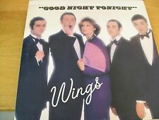 WINGS & PAUL MC CARTNEY  GOOD NIGHT TONIGHT  12""