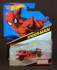 Hot Wheels Spider Man - Marvel Avengers Comic Heroes Character Car
