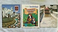 1974 Disney Vacationland, It's a Small World Pictorial, Universal Studios Books