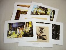 8 x art BLADE RUNNER  Portfolio Storyboards Syd Mead 25 Edition artwork NEW