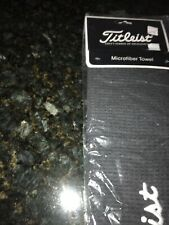 Titleist golf towel microfiber Waffle New