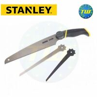 Stanley 3-in-1 Multi Purpose Raw Wood Metal Cutting Hand Saw 0-20-092 STA020092