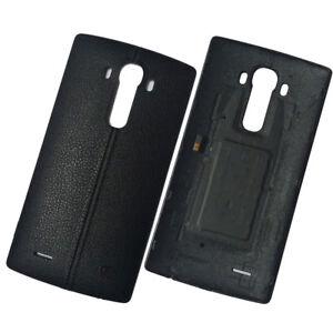 Genuine Original Battery Back Cover For LG G4 H815 H815T NFC Black Leather Effec