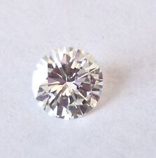 LAB CERTIFIED NATURAL ROUND BRILLIANT CUT DIAMOND SOLITAIRE .87 CT.  SI1 I COLOR
