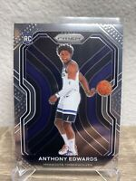 2020-2021 Panini Prizm Anthony Edwards Base Rookie RC Card #258 Timberwolves