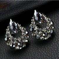 925 Sterling Silber Ohrringe Creolen Ohrstecker Geschenk für Damen Frauen GO1