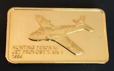 James Medallic Aircraft Hunting Perceval Jet Medal Aviation Airplane Flight