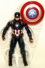 "CAPTAIN AMERICA LOOSE Marvel Legends Civil War 6"" Action Figure NO BAF PART"