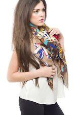 Bufanda Primavera chal Nuevo Verano estilo brillante Rose impresión sedoso Bufanda Nueva Moda