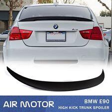 LA Stock Unpainted For BMW E90 High Kick Performance Type 4D Trunk Spoiler