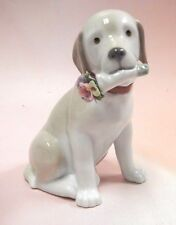 This Bouquet Is For You - Dog Flowers Figurine 2016 By Lladro Porcelain #9256