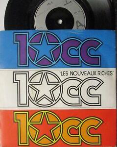 """10cc ~ Les Nouveaux Riches ~ 7"""" Single PS"""