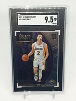 2017-18 Panini Select #28 Lonzo Ball RC Rookie SGC 9.5 Lakers Pelicans Comp PSA