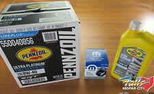 2014-2019 Dodge Ram 2500-5500 6.4L Hemi Full Synthetic Oil Change Kit Mopar OEM