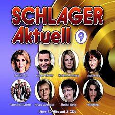SCHLAGER AKTUELL 9 3 CD NEU