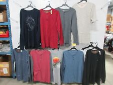 9 MEN'S 2XLT BIG TALL TEE SHIRT CLOTHING THERMAL DRI-FIT NORTHWESTERN ROUTE 66