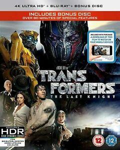 Transformers - The Last Knight (4K Ultra HD + Blu Ray + Bonus Disc) HDR