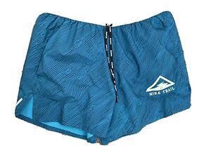 Mens Nike Trail Running Shorts - UK Large Mountain Marathon Running