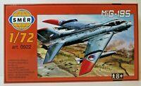 SMER MIG-19S, UDSSR,Kampfflugzeug, Bausatz 1:72,0922,45Teile, OVP, NEU