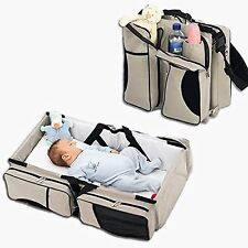 3-in-1 Diaper Bag, Travel Portable Bassinet, Portable Changing Station