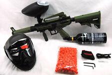 Tippmann Cronus Olive Tactical  20 oz Tank Hopper Anti Fog Mask  paintball gun