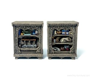 Pathfinder dungeon decor Frostgrave Miniature tabletop furniture D/&D 28mm Kitchen shelf and apron hanger