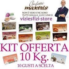 Confetti MAXTRIS 10Kg Confettata Bomboniere Matrimonio + di 100 Gusti a Scelta