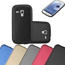 Silicone Case for Samsung Galaxy S3 MINI Shock Proof Cover Mat Metallic TPU