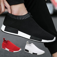 Men's Casual Shoes Mesh Breathable Slip-no Loafers Comfortable Walking Sneakers
