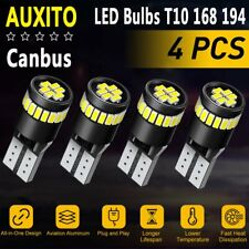 4x 6000K 168 194 T10 2825 Bulb LED Light for Mercedes W204 City Eyebrow Eyelid