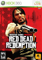 Red Dead Redemption (Microsoft Xbox 360, 2010) VERY GOOD