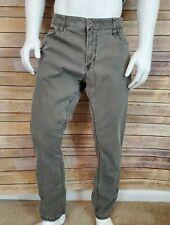 Camel Active Gray Pants 40X30 Hudson Comfort Fit Stretch