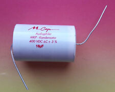 1 x MUNDORF MCAP 16µf (!) 400VDC MKP Kondensator Sonderartikel special item