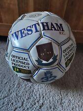 Signed West Ham United Football 2000 Era No Shirt