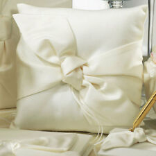 Beverly Clark The Love Knot Ivory Pillow - Wedding Bridal Ceremony Ring Bearer