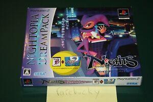 Nights Into Dreams Nightopia Dream Pack (Playstation 2 PS2) NEW SEALED MINT JPN!