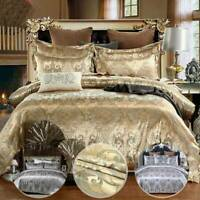 Duvet Quilt Cover with Pillow Case Bedding Set Single Double King All Size UK
