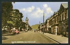 High Street Portmadoc street view unposted Frith street view vintage postcard