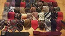 Lot of 50 Vintage Ugly Ties  Used Car Salesmen, Crafts, Props, Clown Posse Lot 3