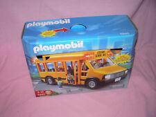 /// PLAYMOBIL 5940 BUS SCOLAIRE AMERICAIN AVEC LUMIERES CLIGNOTANTES ECOLE ///