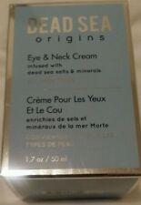 NIB DEAD SEA Origins Eye & Neck Cream with dead sea salts and minerals 1.7 Oz.